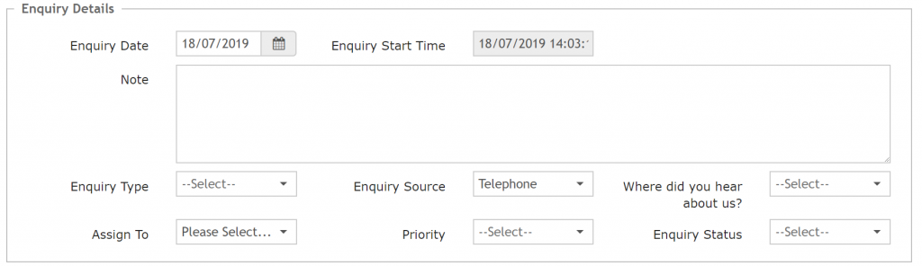 Track how your clients find your service in rediCASE Enquiry Module.