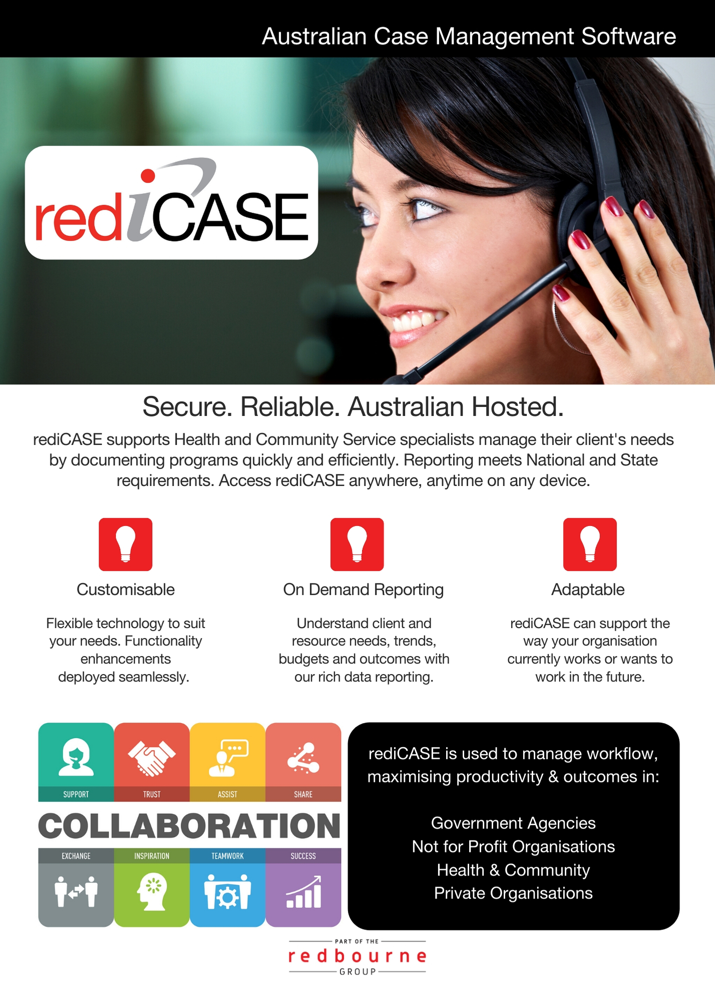 Download our rediCASE brochure.